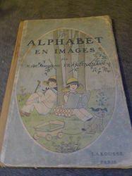 """Livre ancien """"L'Alphabet en images""""Il n'est jamais trop tard!!"""