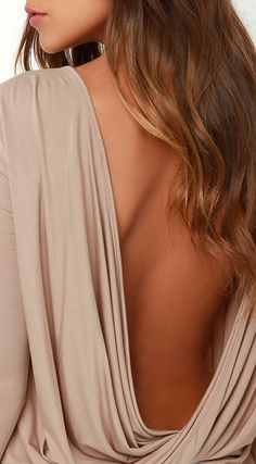 Twisted Drape Back Blouse ❤︎