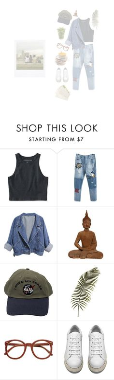 """basically a saturday"" by inspiredfashion99 ❤ liked on Polyvore featuring Aéropostale, Polaroid and Acne Studios"