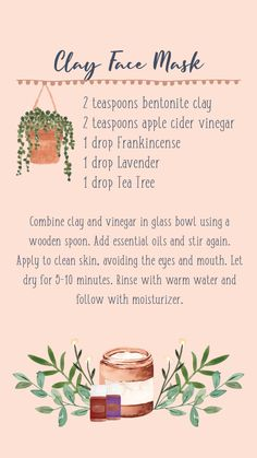 Essential Oil Carrier Oils, Essential Oil Diffuser Blends, Best Essential Oils, Young Living Essential Oils, Diy Lip Mask, Therapeutic Essential Oils, Clay Face Mask, Kombucha, Creme