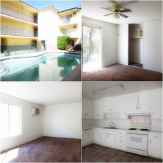 2-bed, 1-bath #apartment in #VanNuys, near to all the best parts of the #SFV. We love valley apartments for their retro charm and affordability.