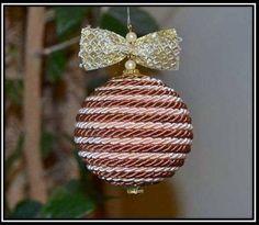 Diseña tus propias bambalinas para el árbol de navidad | Ideas para Decoracion