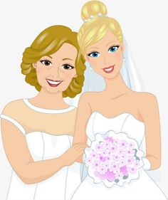 Bride and bridesmaid, Bride, Cartoon, Marry PNG Image and Clipart Wedding Songs, Wedding Ceremony, Wedding Day, Bride Cartoon, Bride Clipart, Text Background, Brides And Bridesmaids, Clipart Images, Wedding Images