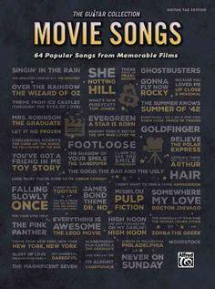 Movie Songs: 64 Popular Songs from Memorable Films