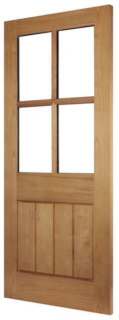 Show details for BANBURY - Our new beautiful Oak Effect External Doors can enhance the look of any property. Part of our Essentials range of External doors, this door offers great quality and fantastic value. Home, Oak, Front Door, Timber, Timber Door, External Doors, Doors, Home Decor, Exterior Doors