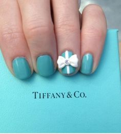 Nail art - Tiffany & Co
