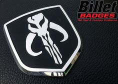 Boba Fett 09 12 Dodge Grille Shield Polished With Gloss Black Background Paint Fill Black Background Painting Ram Accessories Dodge