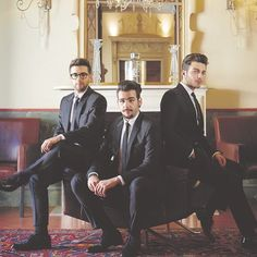 Il Volo, looking dapper.