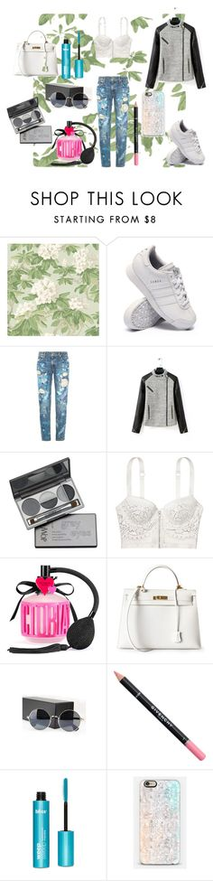 """""""Pillowtalk"""" by wild-young-free-thrilled ❤ liked on Polyvore featuring Cole & Son, adidas, Polo Ralph Lauren, DuWop, Victoria's Secret, Hermès, Givenchy, Casetify, women's clothing and women"""