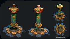 ArtStation - Heroes of the Storm - Banner - Fan Art, Jakob Gavelli Digital Sculpting, Game Props, Heroes Of The Storm, 3d Artwork, Game Item, Game Assets, 3d Artist, Models, Texture Painting