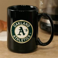 Congrats @Julia Katibah! You are today's Fanatics Wish List Contest Winner! Please email us at SocialMedia@Fanatics.com so we can send you your prize code and you can get this Oakland A's Mug for FREE! #FanaticsWishList