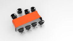 FLOYD is a diningtable or desk made of carbon fiber, Kevlar, structural foam and stainless steel. Furniture Making, Carbon Fiber, Sunglasses Case, Furniture Design, Stainless Steel, Orange, Top, Carbon Fiber Spoiler, Crop Shirt