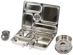 Rover Plus bento-style bpa-free lunch box