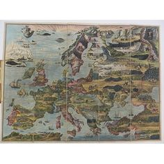 Board game - european travellers, aft. 1823
