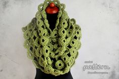 New Crochet Pattern – Chunky Joy-Joy Scarf.  I really want to try to make this scarf!