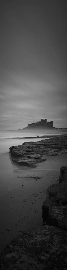 """Spectre"" - Bamburgh Castle at Dusk New print available from only £35!"