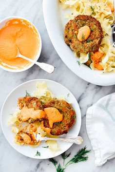 Salmon Cakes with Re