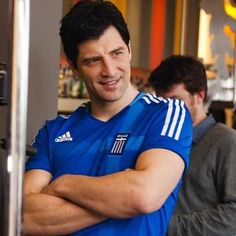 2012 Addida  Sakis Rouvas Greek Gods, Adidas Shoes, Handsome, Polo, Positivity, Singer, Celebrities, Mens Tops, Free