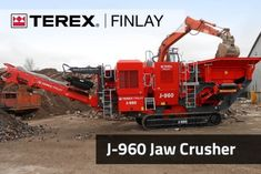 The Terex Finlay J-960 is a compact and aggressive mobile jaw crusher incorporating a proven Terex direct drive single toggle jaw crusher which gives high capacity with large reduction capacities. The plant features a heavy duty hopper with integrated vibrating grizzly and pan feeder as standard. Its compact size, excellent mobility and high crushing capacity even at tight settings in recycling and hard rock operations make the J-960 ideal for small to medium sized operators.