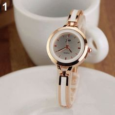 Lady fashion dress thin strap woman watch