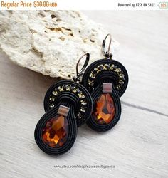 Hey, I found this really awesome Etsy listing at https://www.etsy.com/listing/554516692/on-sale-dangle-soutache-earrings-with