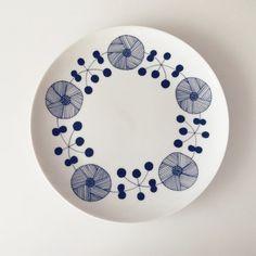 北欧柄のお皿 2