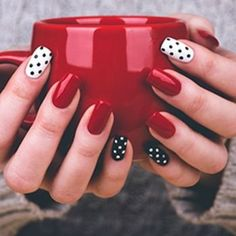 Whatever your age is, the red attach brightness is consistently a nice choice. The red nails are so able that you can abrasion them for differnet styles and occasions. If you demand a larruping red attach design, you should break actuality and accept a attending at what we've able for you today. Related PostsGorgeous Nail …