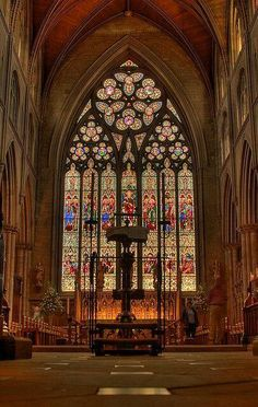 Ripon Cathedral in North Yorkshire, England, UK.