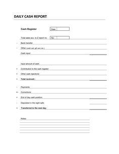 cash count sheet template balance sheet pinterest work planner