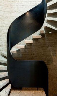 baranda de escalera Treppen Stairs Escaleras repinned by www.smg-treppen.de #smgtreppen