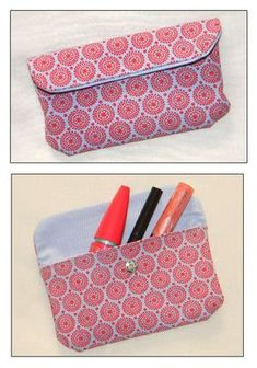 Trousse a maquillage Naomi ? Coin Couture, Couture Sewing, Sewing Crafts, Sewing Projects, Diy Pochette, Sewing Online, Craft Stalls, Diy Bags Purses, Pouch Tutorial