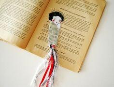 bookmark by iris-flower