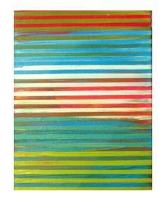 """Acrylic On Wood Panel  8"""" x 10""""  2012"""
