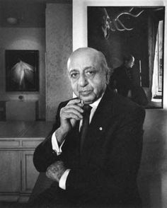 Self-portrait of Yousuf Karsh, photographer