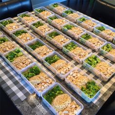 And the win for straight-up commitment goes to…this personal trainer, who preps 20 meals in one go. If there's a world record for most prepped-out Tupperware, we're thinking this is it.