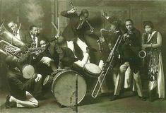 Cotton Club Band circa 1920's.