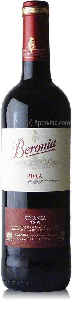 Beronia Crianza 2011 desde $8.41 (6,50€)
