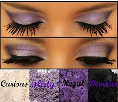 Amazing for brown or hazel eyes
