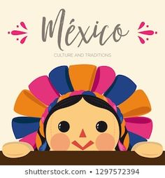 Kawaii Nails, Mexico Art, T Art, Mexican Folk Art, Printable Paper, Summer Crafts, Cute Dolls, Adult Coloring, Lettering