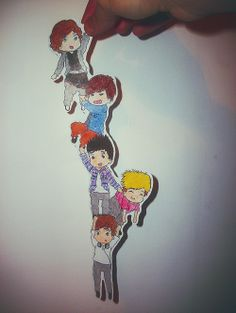 One Direction fanart! awww...