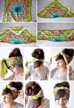 Make a bandana...