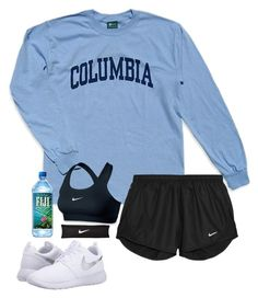 """Untitled #151"" by illuminium ❤ liked on Polyvore featuring Columbia and NIKE"