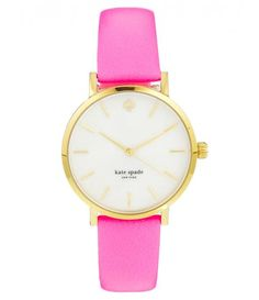 Pink and Gold Watch