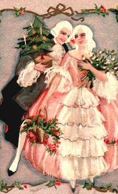 Vintage look in pink.