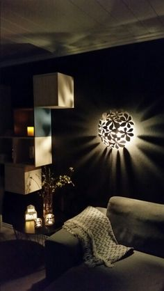 IKEA diy lamp