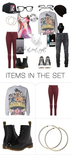 """Love at first sight"" by jlafaye on Polyvore featuring art, DBZ, anime, relationship, DragonBallZ and menandwomen"