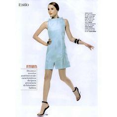 Vogue Brasil Editorial Vogue Estilo: Atualize os anos 60, September... ❤ liked on Polyvore