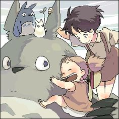 my neighbor totoro spirited away photo: totoro 1150348136577.gif