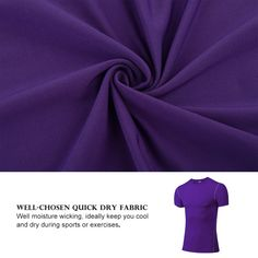 FITIBEST Compression TShirt Quick Dry Baselayer Sports Short Sleeves Shirts Exercise Clothes Ultra Thin Running Fitness Baselayer For Men Pack Of 3 L Black Blue Purple ** You can find more details by visiting the image link. (This is an affiliate link) Running Equipment, Exercise Clothes, Running Workouts, Sport Shorts, Quick Dry, Purple, Blue, Image Link, Viola