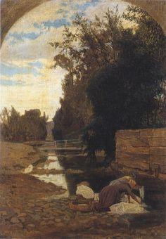 Ernesto Rayper Lavandaie a Carcare, 1866